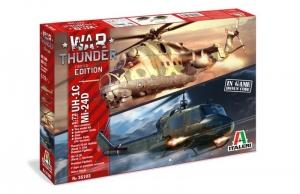 Italeri 35103 War Thunder UH-1C i MI-24D, 2 modele