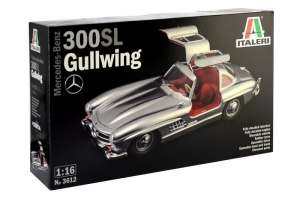 Italeri 3612 Samochód Mercedes-Benz 300 SL Gullwing 1:16