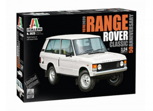 Italeri 3629 Samochód Range Rover Classic model 1-24