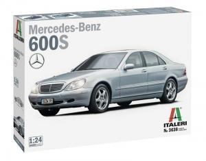 Italeri 3638 Samochód Mercedes Benz 600S