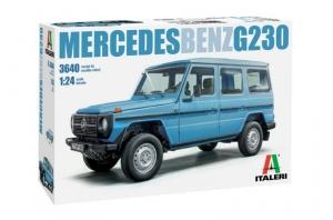 Italeri 3640 Samochód Mercedes Benz G230 skala 1-24