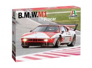 Italeri 3643 Samochód BMW M1 Procar model 1-24