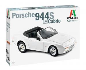 Italeri 3646 Samochód Porsche 944 S Cabrio