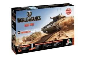 Italeri 36514 Crusader III - model z serii World of Tanks