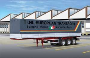 Italeri 3908 Canvas Trailer 40FT