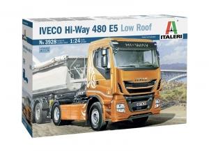Italeri 3928 Ciężarówka Iveco Hi-Way 480 E5 Low Roof