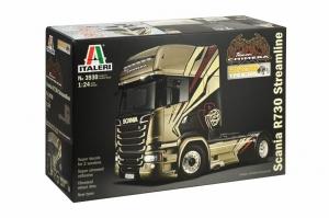 Italeri 3930 Ciężarówka Scania R730 Streamline Team Chimera