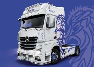 Italeri 3935 Ciężarówka Mercedes-Benz Actros MP4 Giga Space