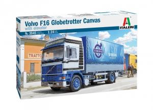 Italeri 3945 Ciężarówka Volvo F16 Globetrotter Canvas Truck