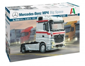 Italeri 3948 Ciężarówka Mercedes-Benz MP4 Big Space