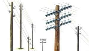 Italeri 404 Telegraph Poles