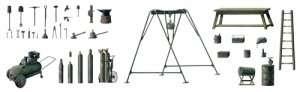 Italeri 419 Field tool shop
