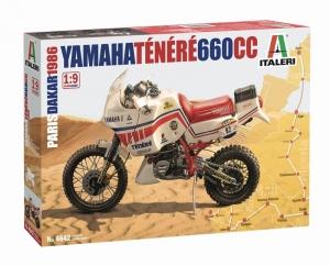 Italeri 4642 Motocykl Yamaha Tenere 660cc Paryż Dakar 1986