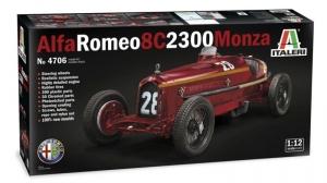 Italeri 4706 Samochód Alfa Romeo 8C 2300 Monza skala 1-12