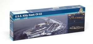 Italeri 5522 USS Kitty Hawk CV-63
