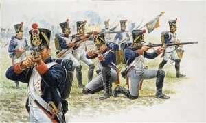 Italeri 6002 French Line Infantry