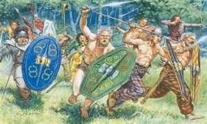 Italeri 6022 Figurki - Gauls Warriors - I Cen. BC
