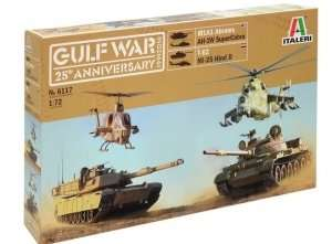 Italeri 6117 Gulf War 25th anniversary - zestaw - 4 modele