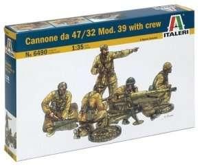 Italeri 6490 Cannone da 47/32 Mod.39 with crew