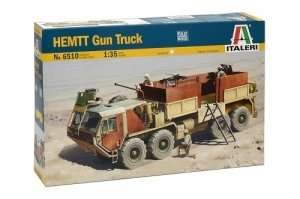 Italeri 6510 HEMTT Gun Truck