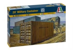 Italeri 6516 Wojskowy kontener 1-35