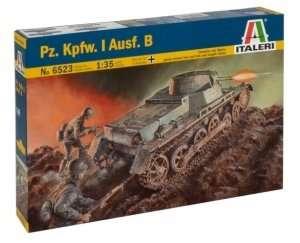 Italeri 6523 czołg Pz.Kpfw.I. Ausf.B