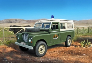 Italeri 6542 Samochód Land Rover Seria III 109 Gwardia Cywilna