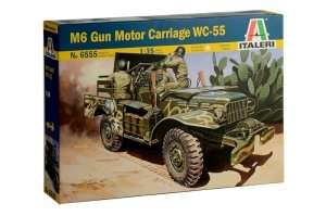 Italeri 6555 M6 Gun Motor Carriage WC-55