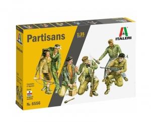 Italeri 6556 Figurki - włoscy partyzanci z WWII