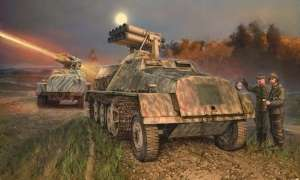 Italeri 6562 Wyrzutnia pocisków Panzerwerfer 42 na sWS