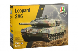 Italeri 6567 Czołg Leopard 2A6 model 1-35