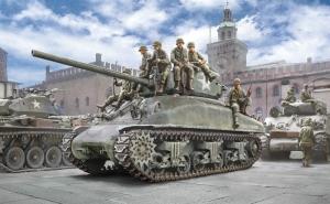 Italeri 6568 Czołg M4A1 Sherman z figurkami