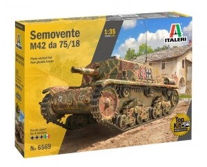 Italeri 6569 Działo samobieżne Semovente M42 da 75/18