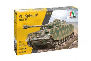 Italeri 6578 Czołg Panzer IV Ausf.H model 1-35