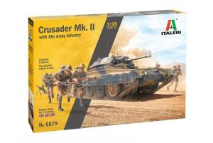 Italeri 6579 Crusader Mk.II z figurkami model 1-35