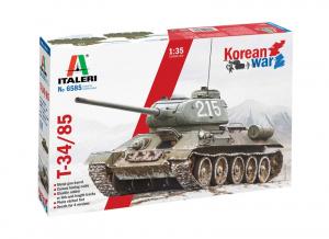 Italeri 6585 Czołg T-34/85 wojna w Korei model 1-35