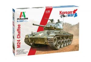 Italeri 6587 Czołg M24 Chaffee wojna w Korei model 1-35