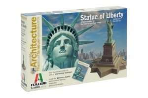 Italeri 68002 Statue of Liberty: World Architecture