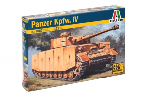 Italeri 7007 Czołg Panzerkampfwagen IV model 1-72