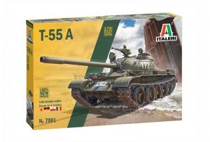 Italeri 7081 Czołg T-55A wersja PL model 1-72