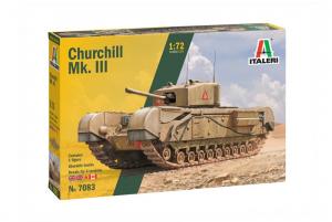 Italeri 7083 Czołg Churchill Mk.III model 1-72