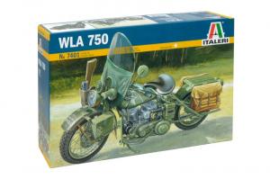 Italeri 7401 Motocykl WLA750 model 1-9