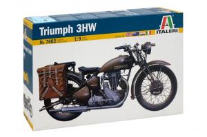 Italeri 7402 Motocykl Triumph 3HW model 1-9