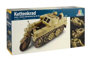 Italeri 7404 Pojazd Kettenkrad Sd.Kfz.2 model 1-9
