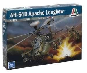 Italeri 863 AH-64D Apache Longbow