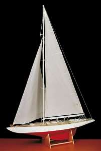 Jacht Columbia  - Amati 170081 - drewniany model w skali 1:35