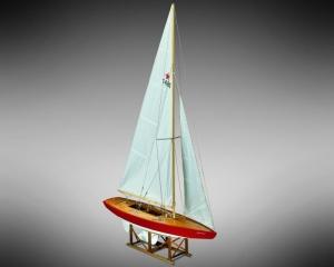 Jacht Jenny Mamoli MV54 drewniany model statku w skali 1-12