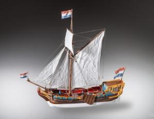 Jacht holenderski drewniany model 1-48 nr D023