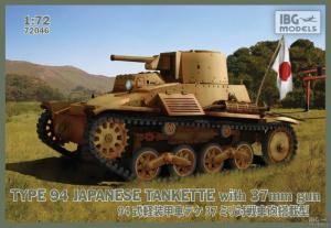 Japońska tankietka Typ94 z działem 37mm IBG 72046