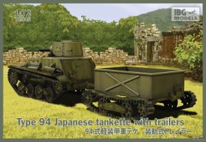 Japońska tankietka Type94 z naczepą IBG 72045